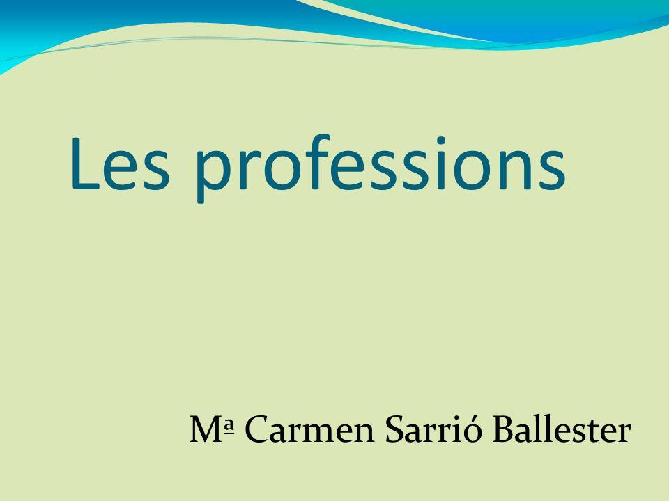 Mª Carmen Sarrió Ballester