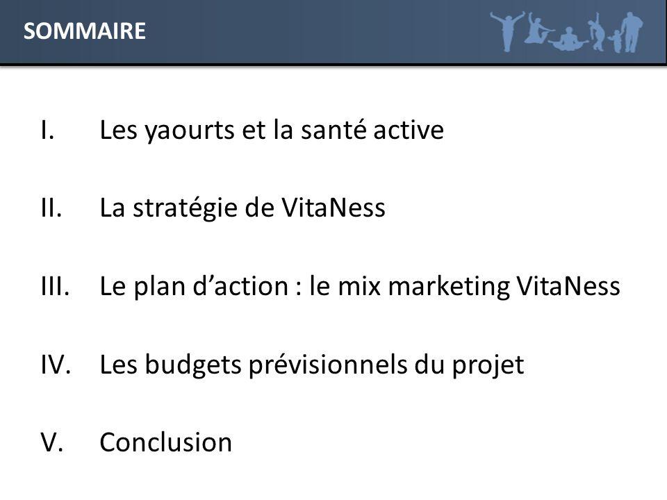 Les yaourts et la santé active La stratégie de VitaNess