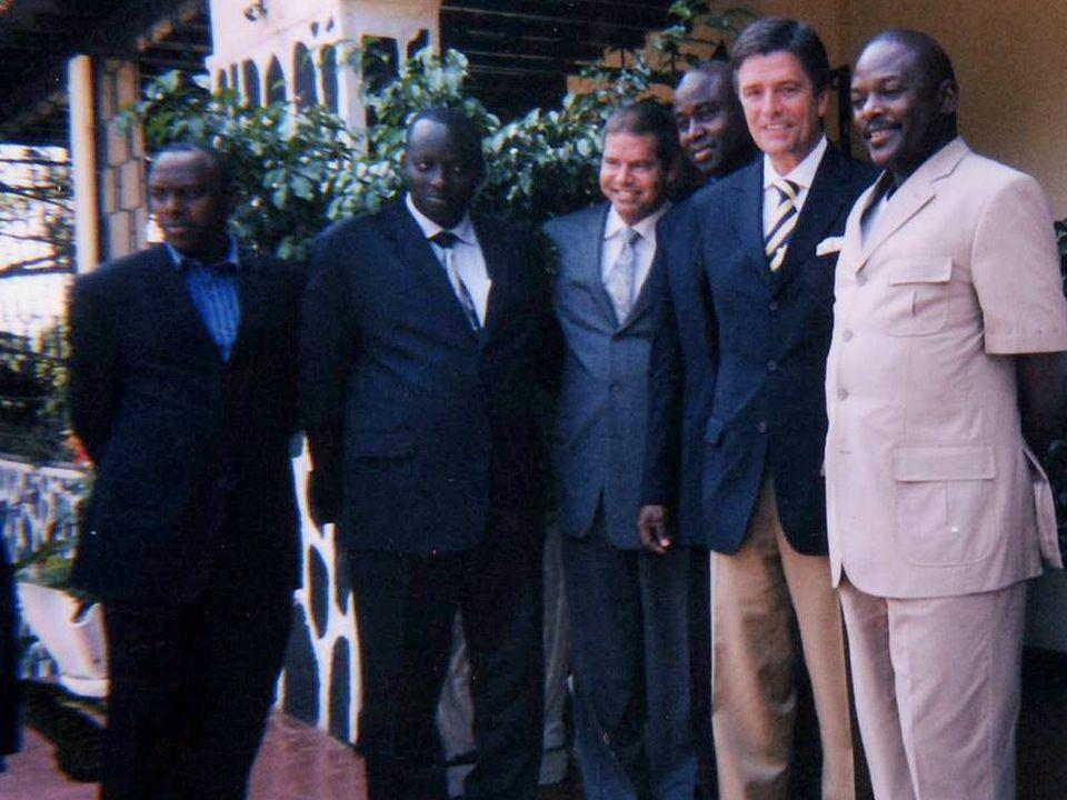 Photo avec president Burundi