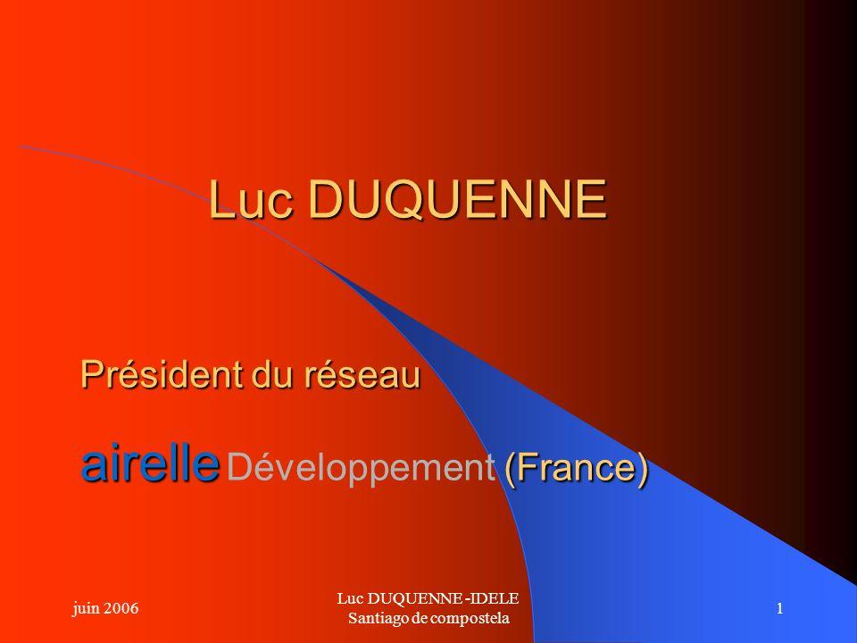 Luc DUQUENNE -IDELE Santiago de compostela
