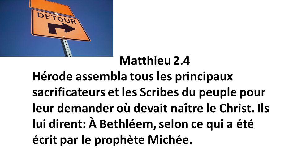 Matthieu 2.4