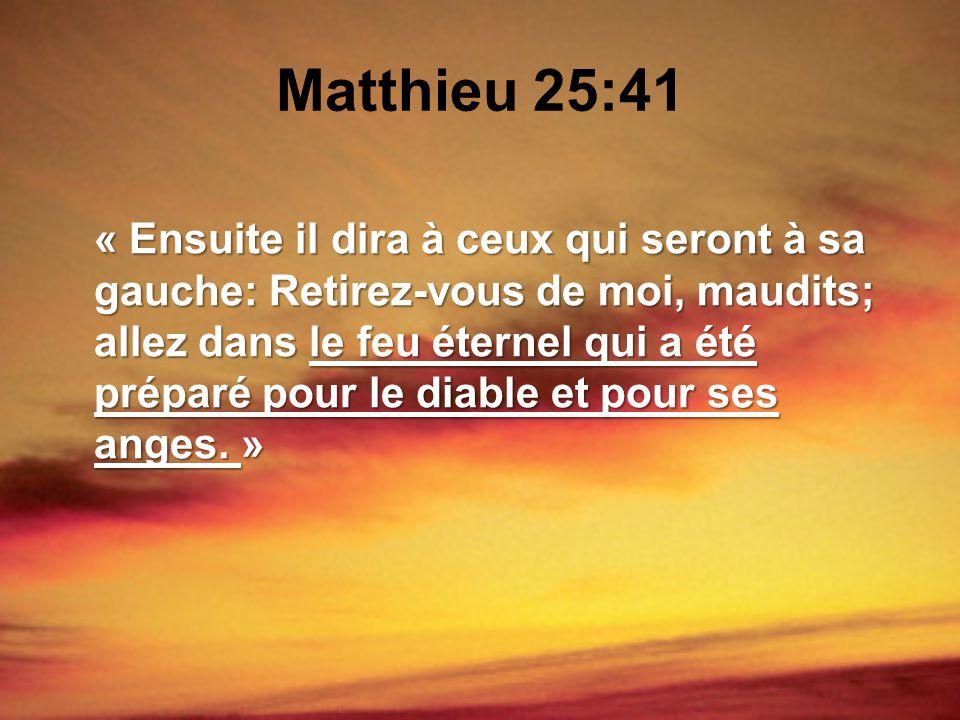 Matthieu 25:41