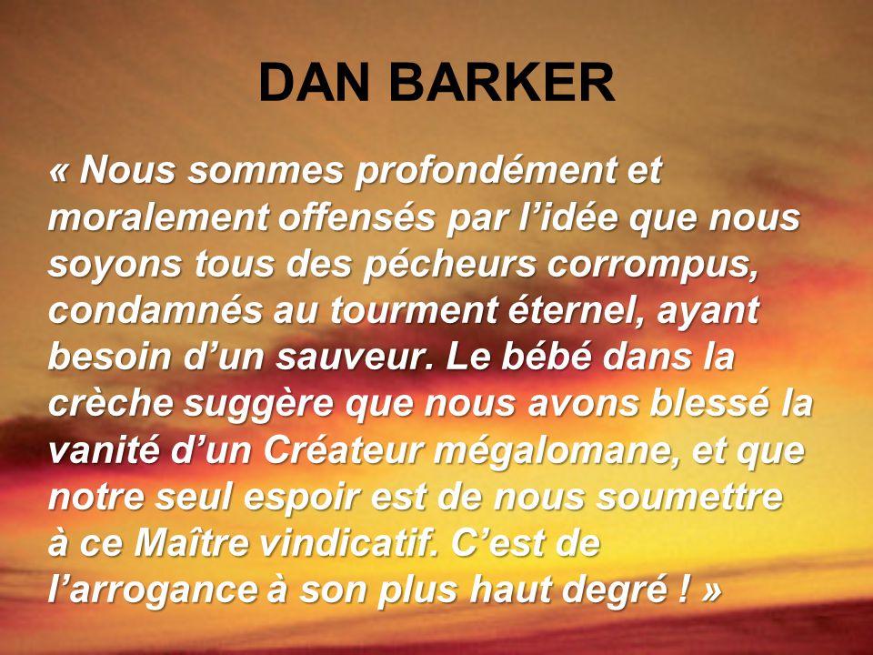 DAN BARKER