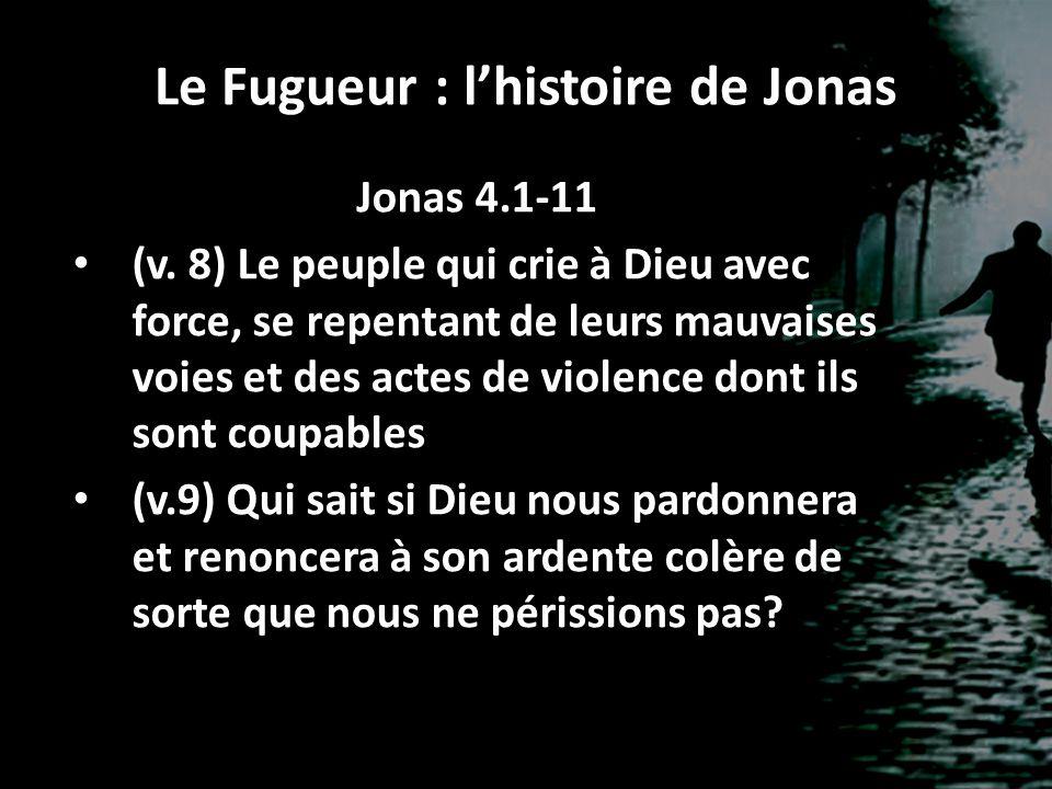 Le Fugueur : l'histoire de Jonas