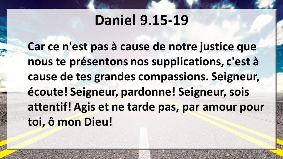 Daniel 9.15-19