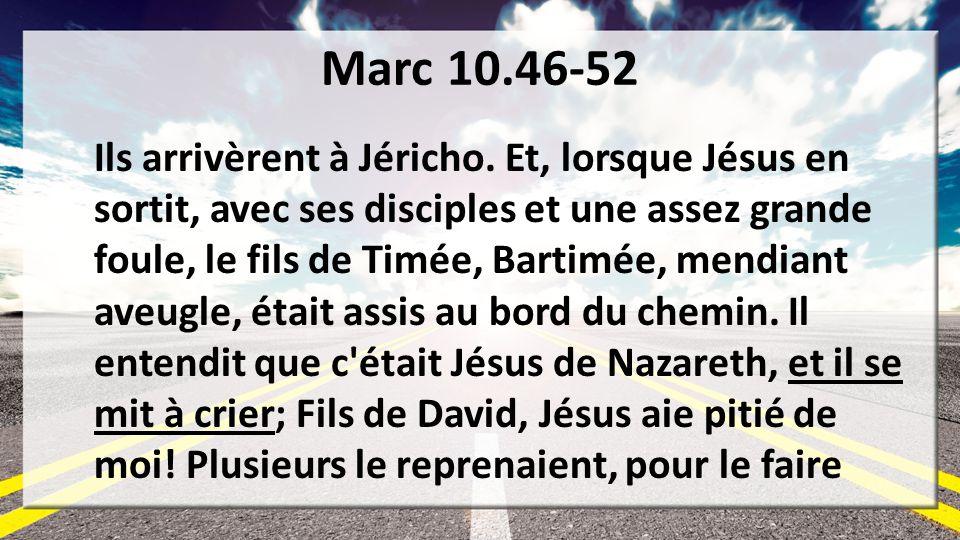 Marc 10.46-52