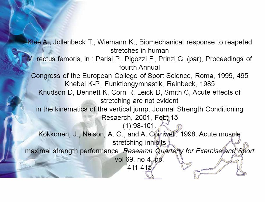 Congress of the European College of Sport Science, Roma, 1999, 495