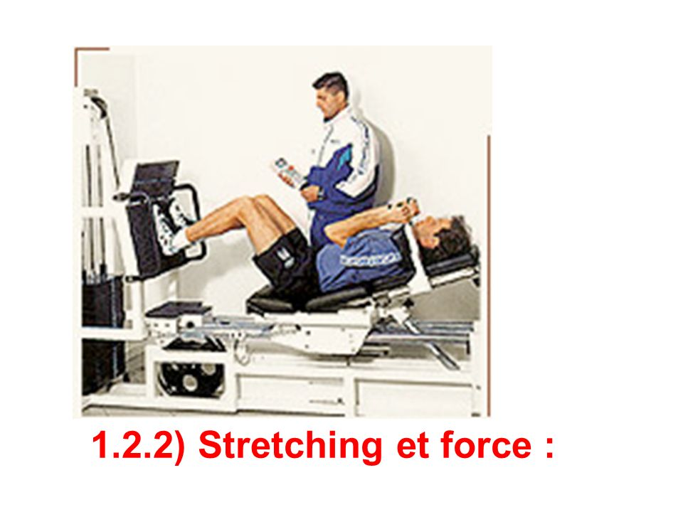 1.2.2) Stretching et force :