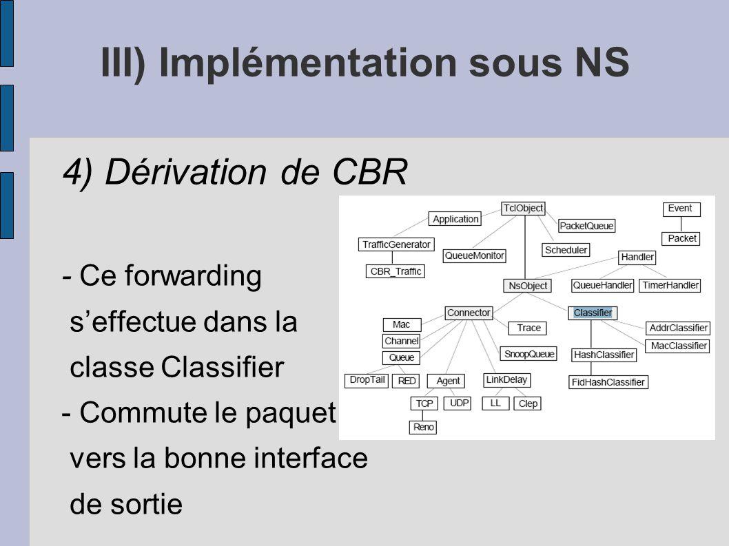 III) Implémentation sous NS