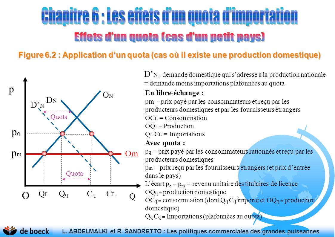 Chapitre 6 : Les effets d'un quota d'importation
