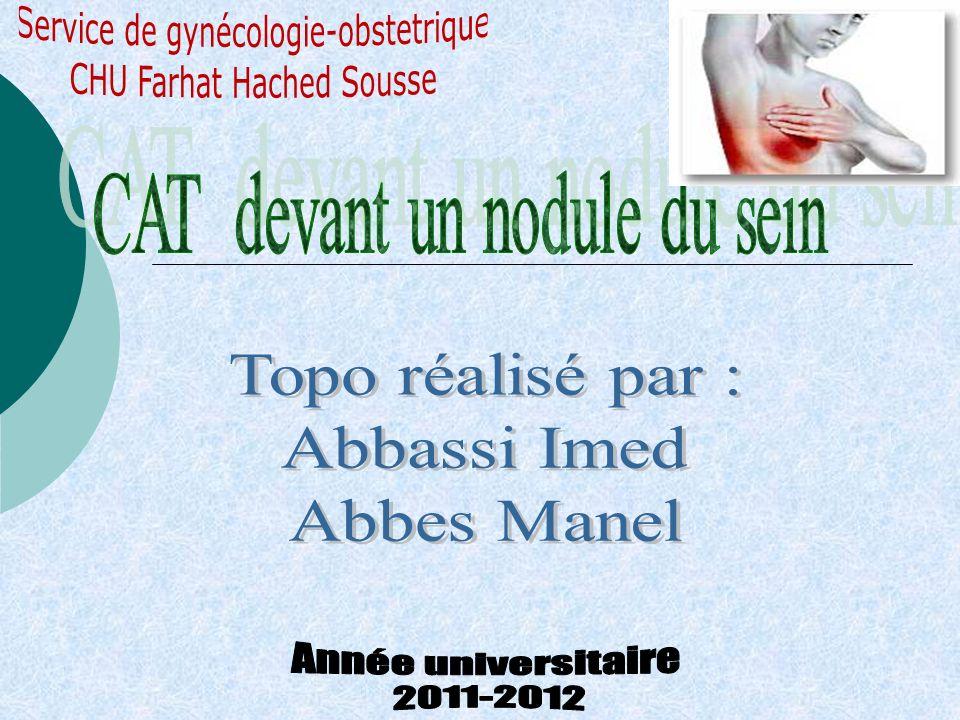 Service de gynécologie-obstetrique CHU Farhat Hached Sousse