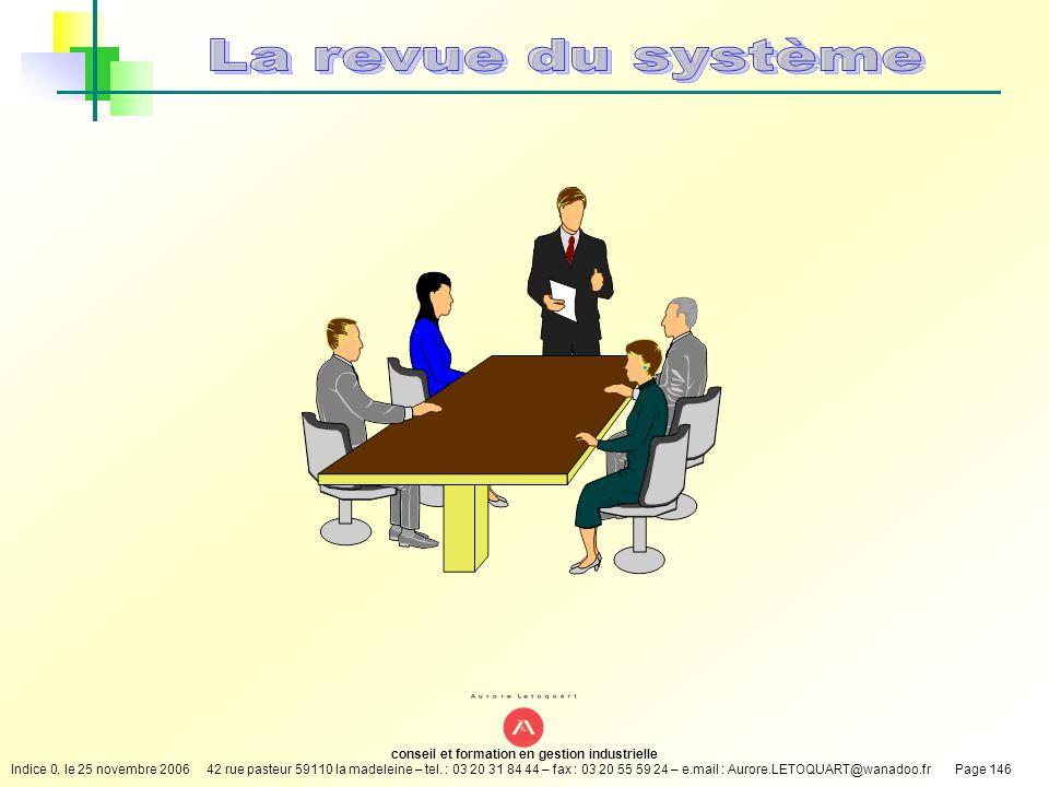 La revue du système