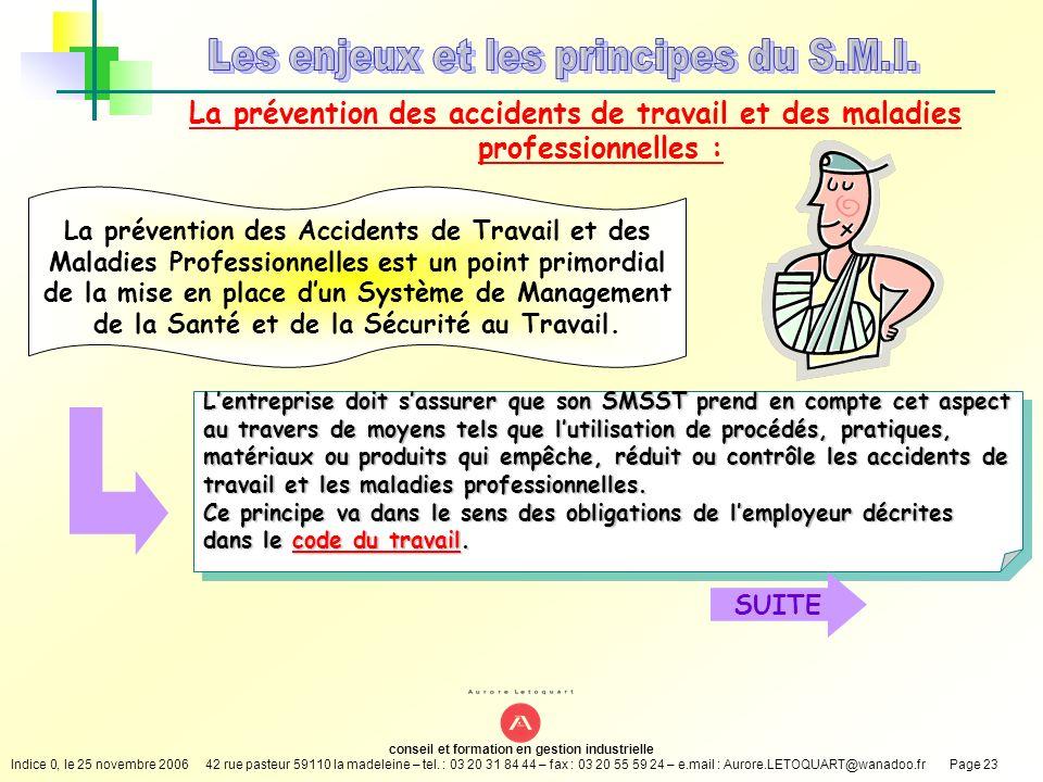 Les enjeux et les principes du S.M.I.