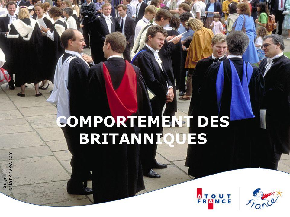COMPORTEMENT DES BRITANNIQUES