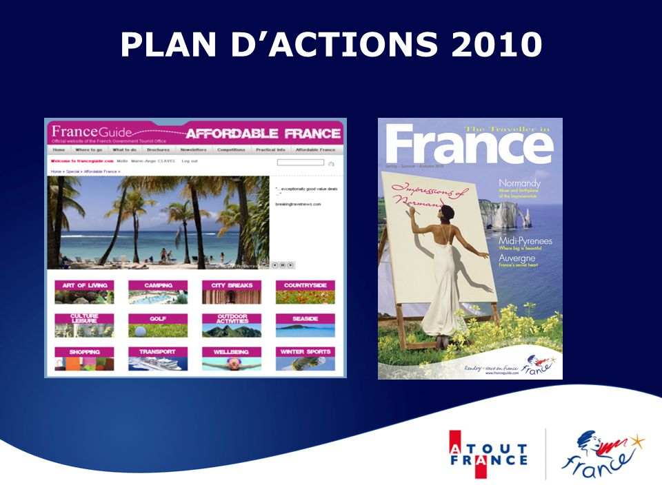 PLAN D'ACTIONS 2010