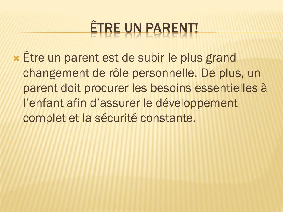 Être un parent!