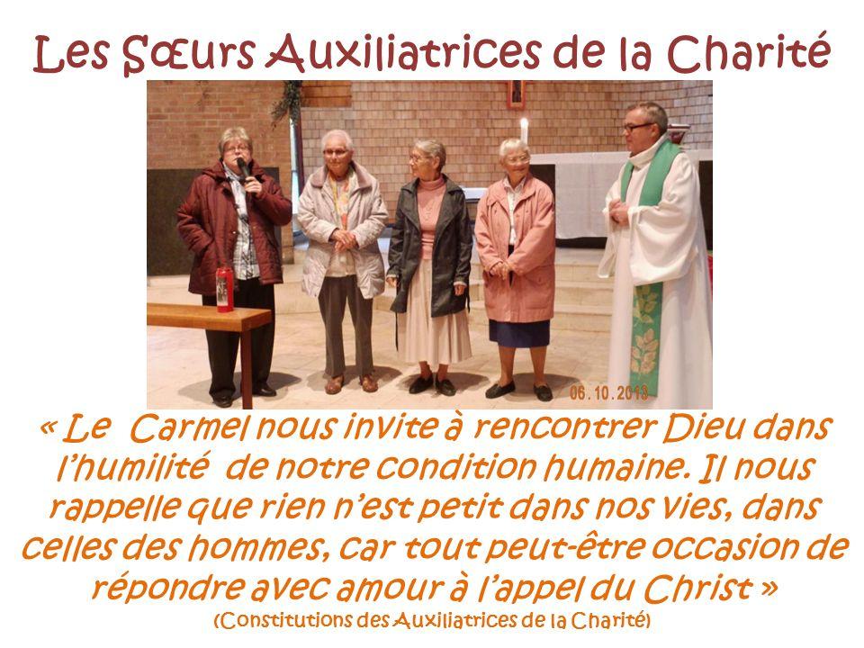 Les Sœurs Auxiliatrices de la Charité