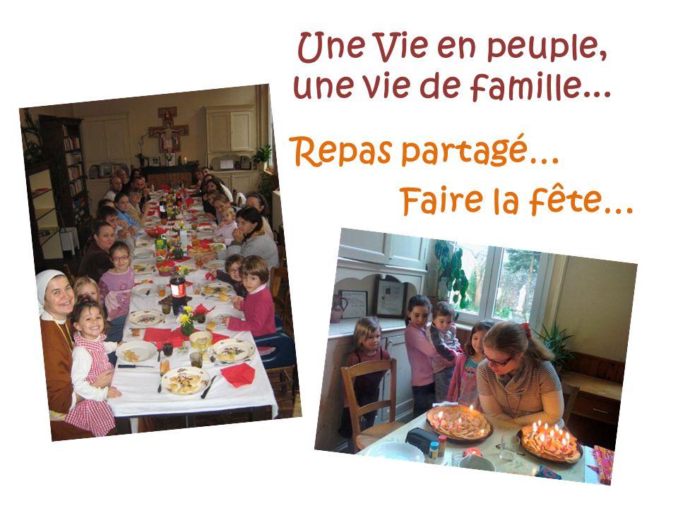 Une Vie en peuple, une vie de famille...
