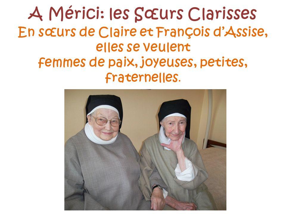 A Mérici: les Sœurs Clarisses