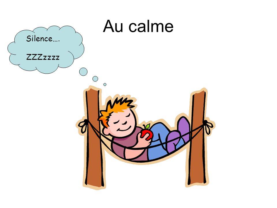 Au calme Silence…. ZZZzzzz