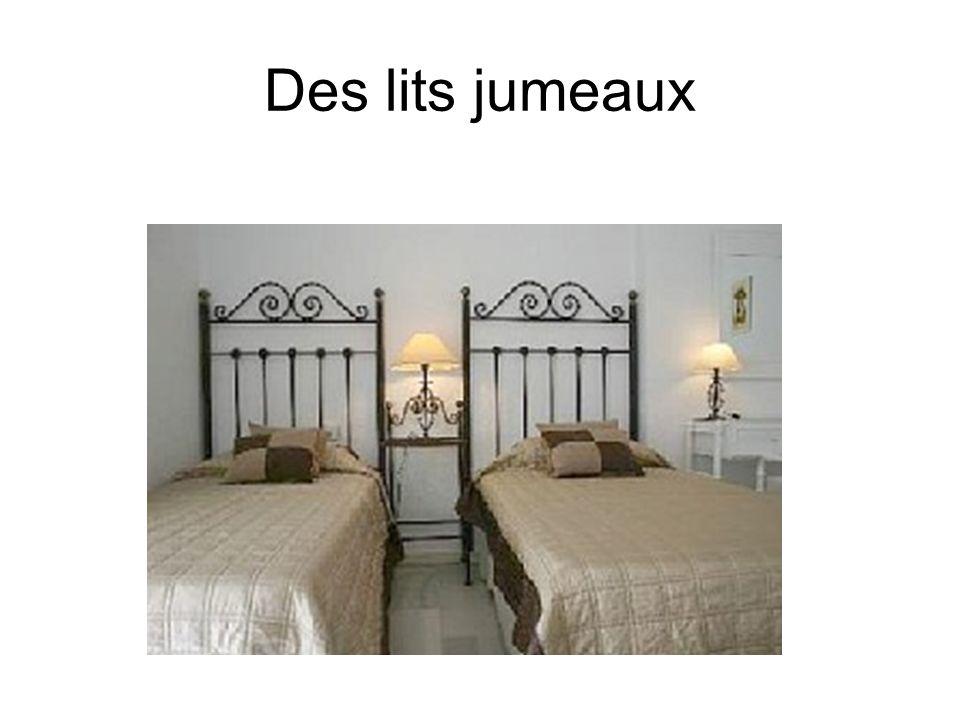 Des lits jumeaux