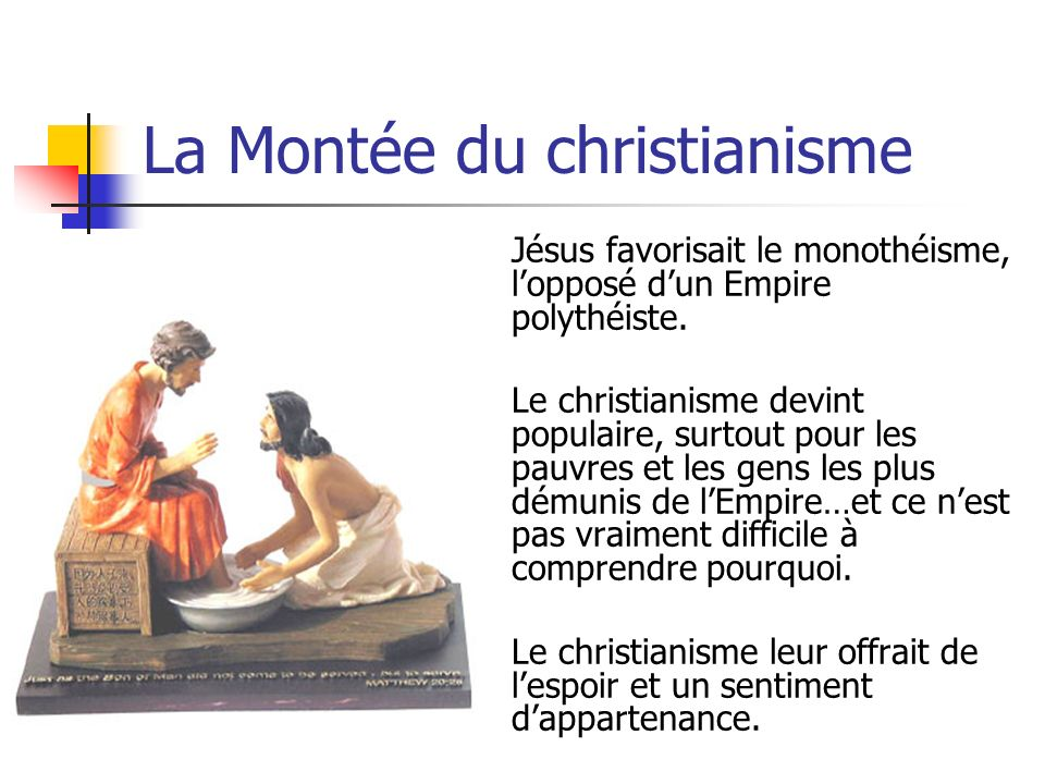 La Montée du christianisme