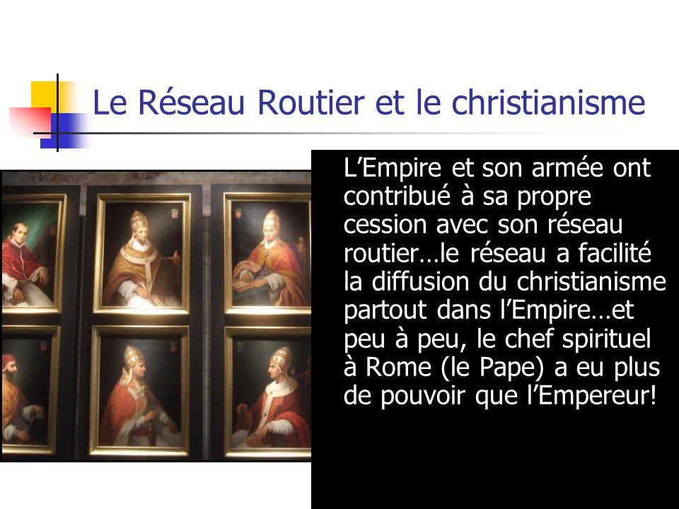 Le Réseau Routier et le christianisme
