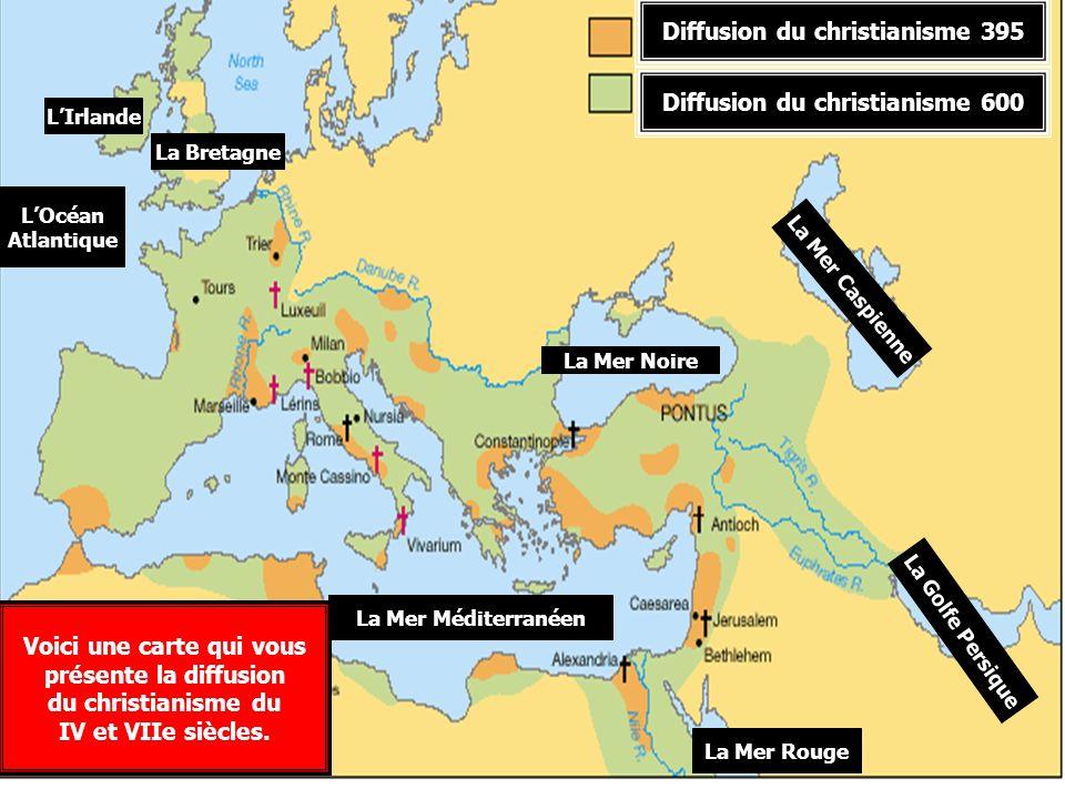 Diffusion du christianisme 395
