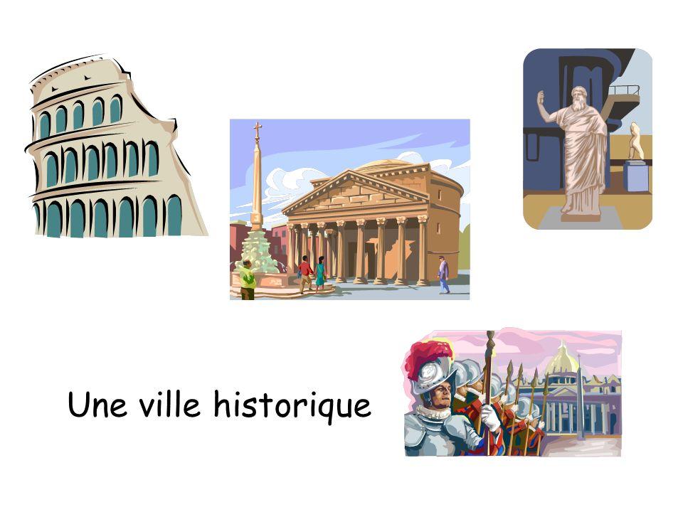 Une ville historique