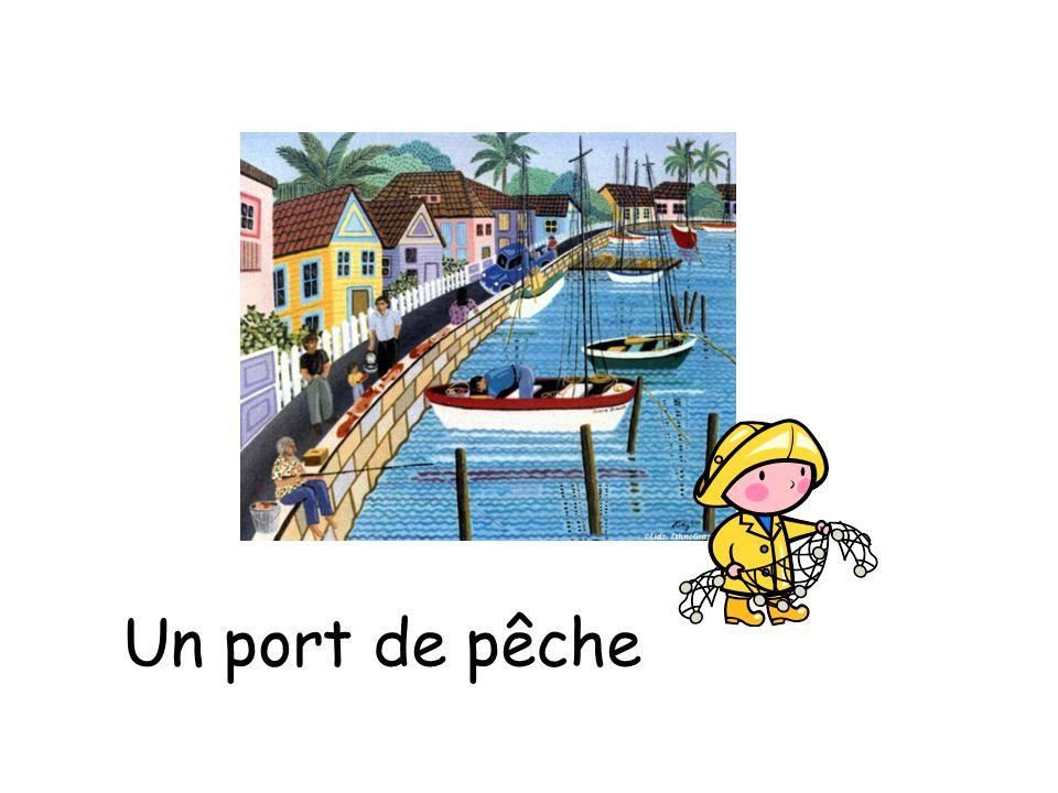 Un port de pêche