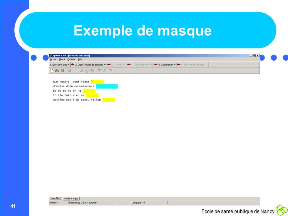 Exemple de masque