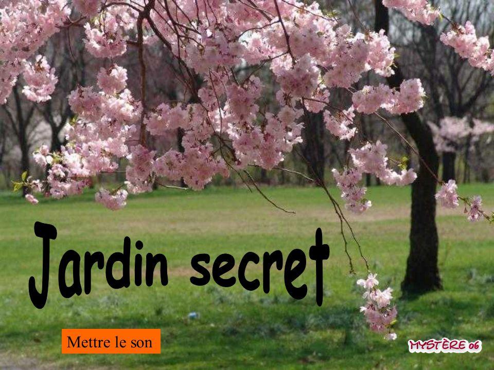 Jardin secret Mettre le son