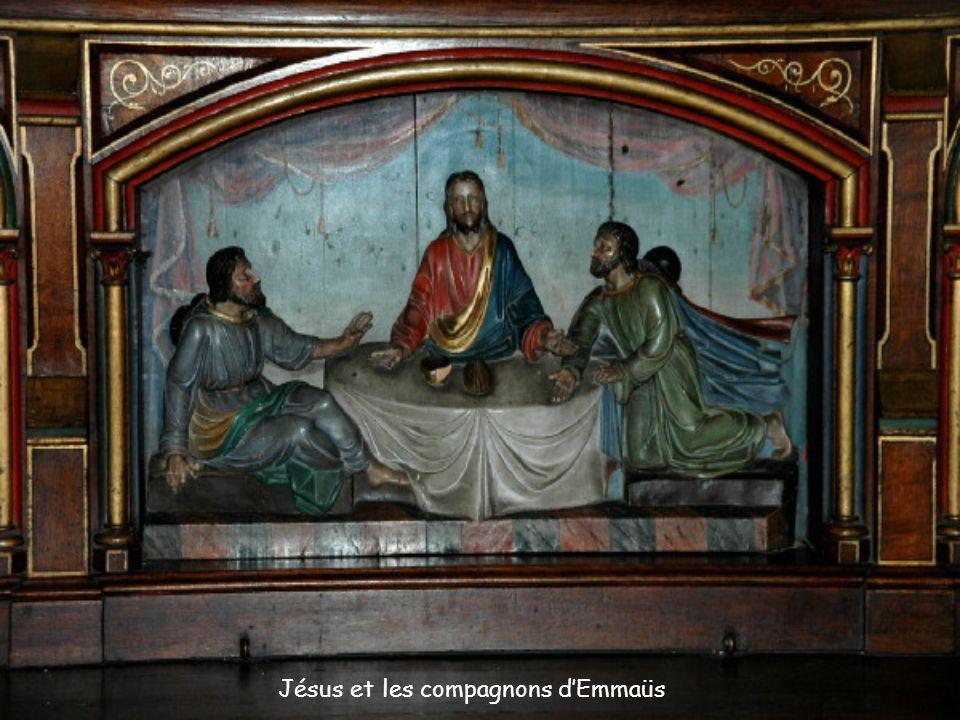 Jésus et les compagnons d'Emmaüs