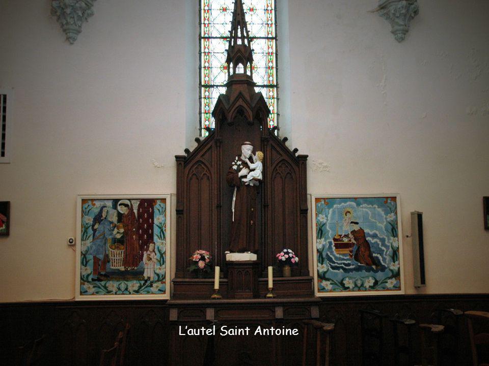 L'autel Saint Antoine