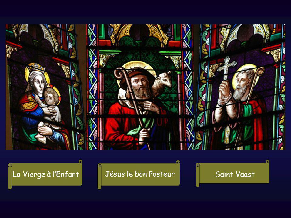 La Vierge à l'Enfant Jésus le bon Pasteur Saint Vaast