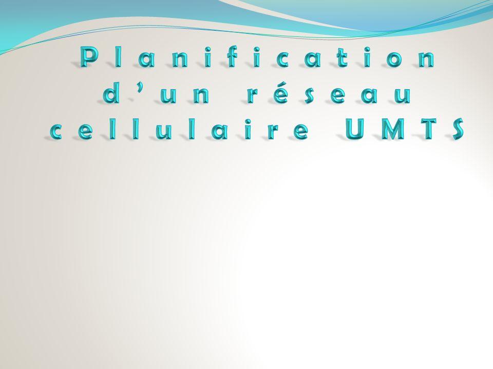 Planification d'un réseau cellulaire UMTS