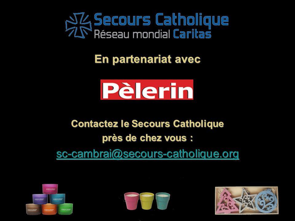 Contactez le Secours Catholique