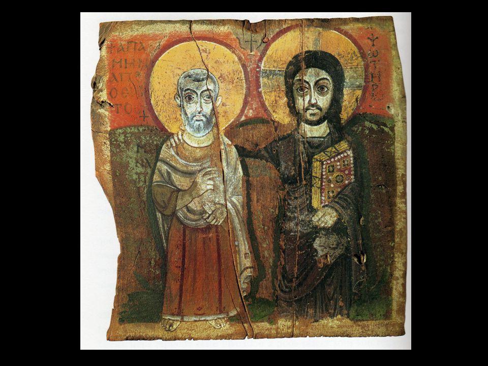 Le Christ et abba Ména