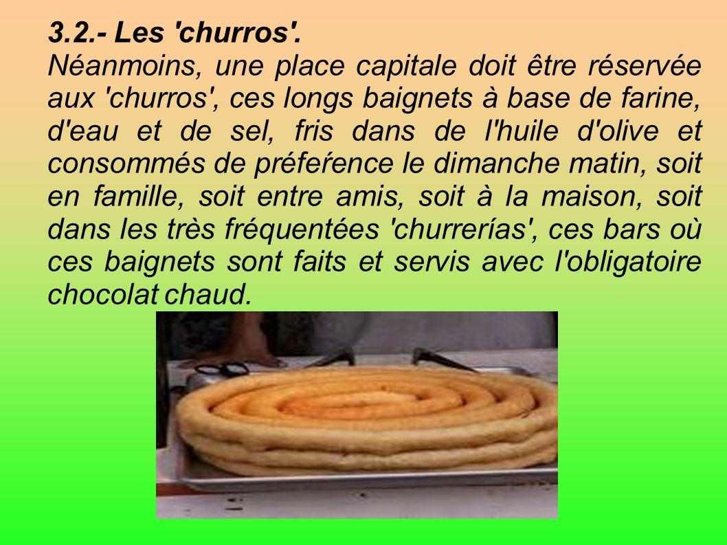3.2.- Les churros .