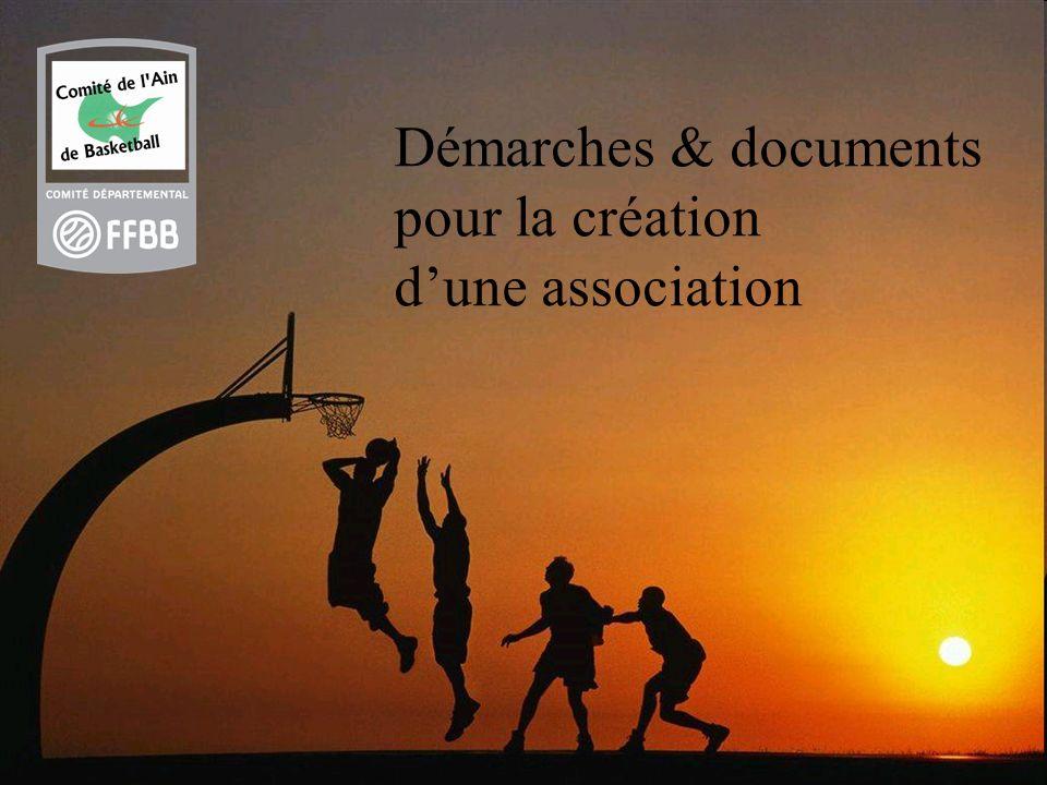 Démarches & documents pour la création d'une association