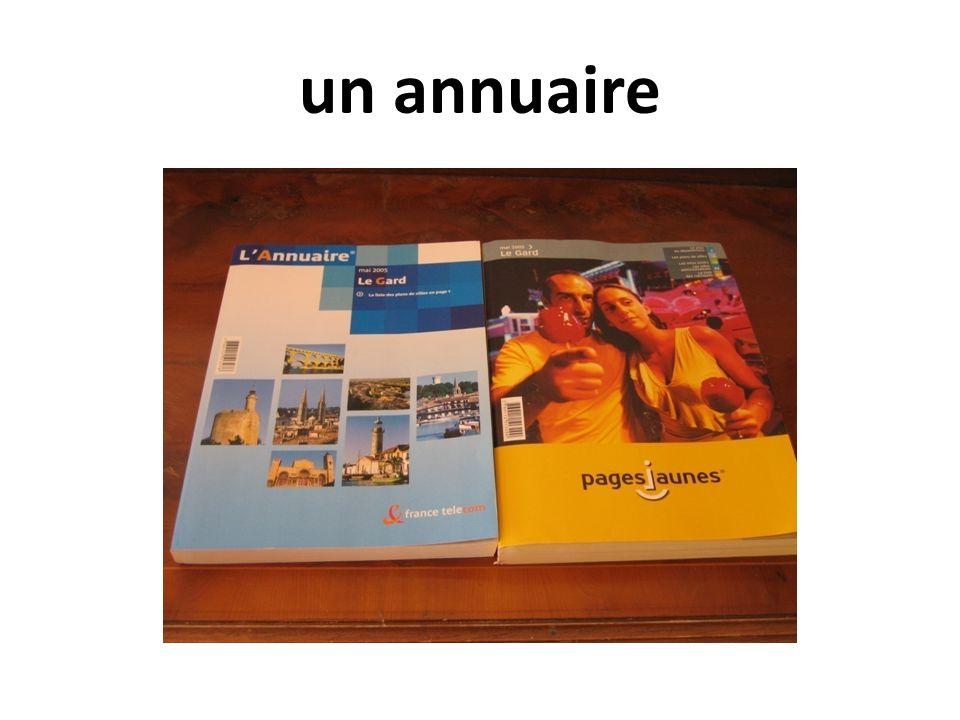 un annuaire