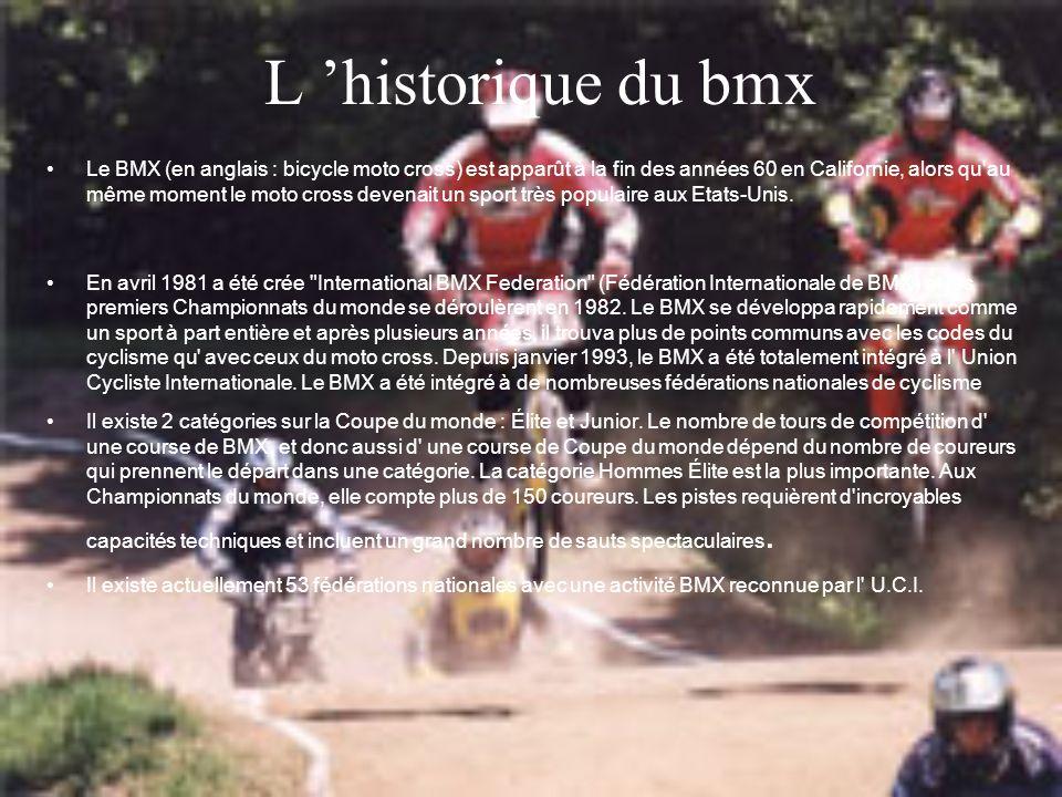 L 'historique du bmx