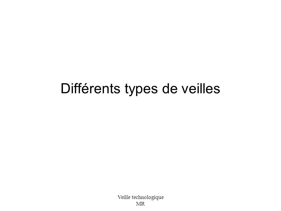 Différents types de veilles