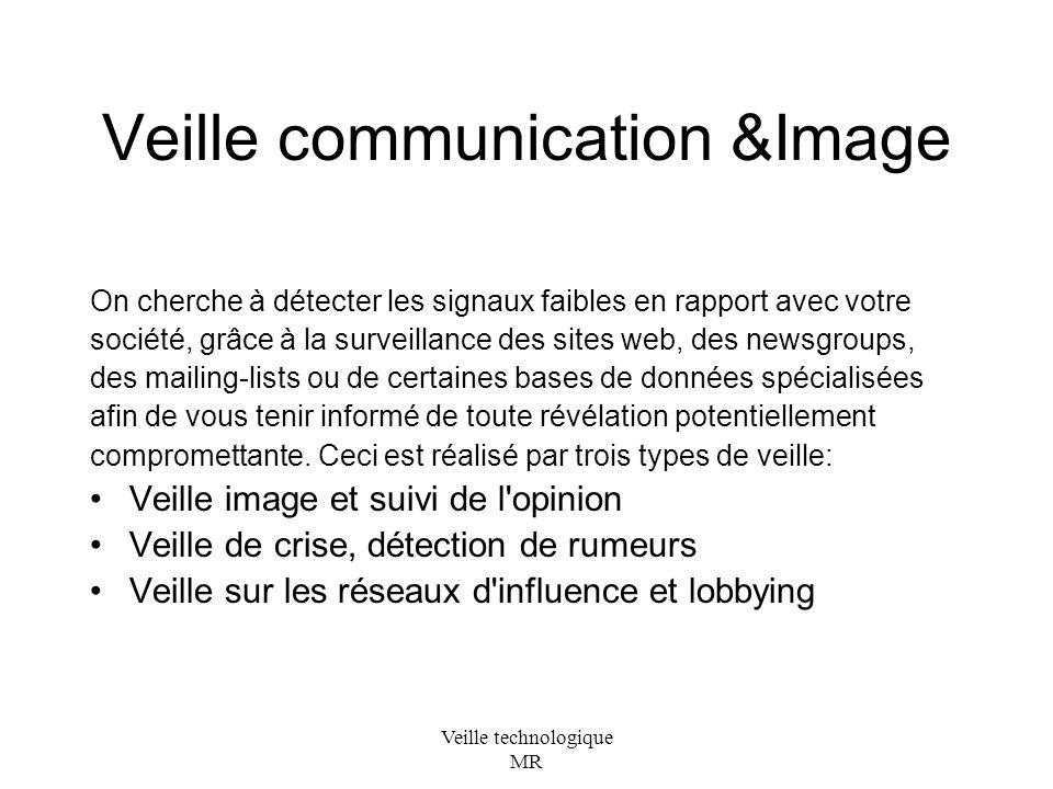 Veille communication &Image