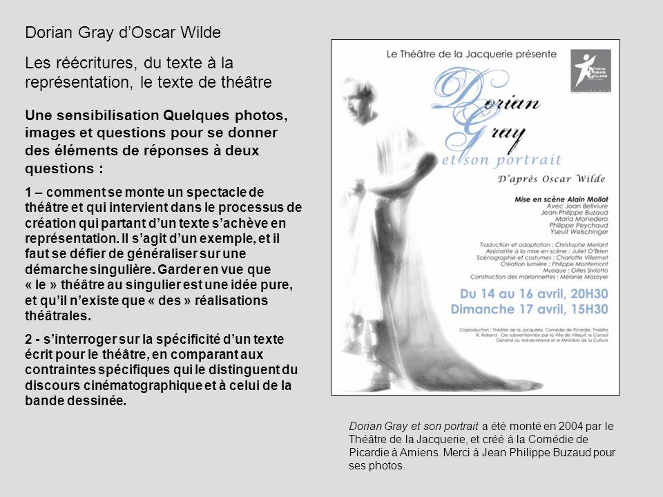 Dorian Gray d'Oscar Wilde