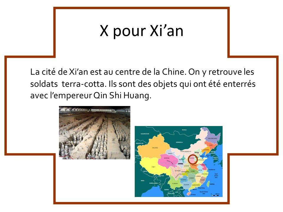X pour Xi'an