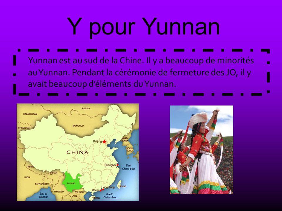 Y pour Yunnan