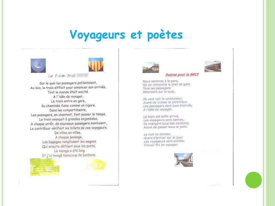 Voyageurs et poètes