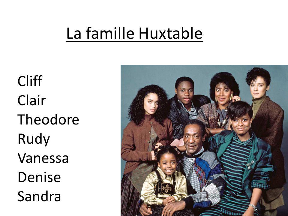 La famille Huxtable Cliff Clair Theodore Rudy Vanessa Denise Sandra