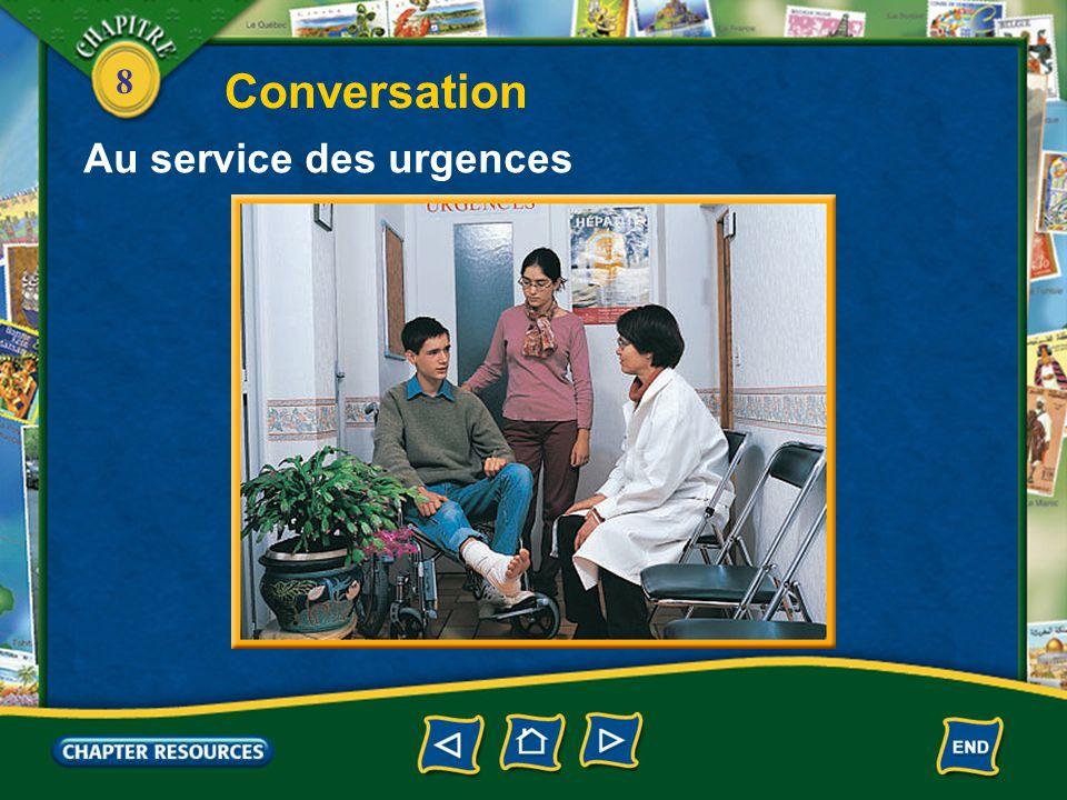 Conversation Au service des urgences